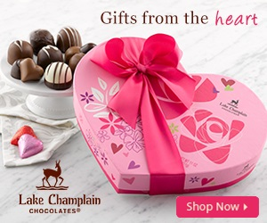 Love is Sweet - Give a box of Lake Champlain Chocolates this Valentine's Day! Click here to shop now.