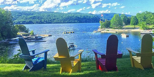 Adirondack Chairs 500x250 - Basin Harbor Resort - Vergernnes, VT