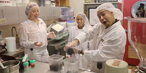 Flavor Lab Chefs 500x250 - Ben & Jerry's Factory Tours - Waterbury, VT