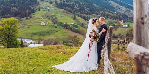 Mountain Wedding Holiday Inn Club Vacations Mount Ascutney Resort Brownsville Vermont
