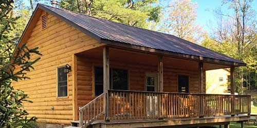 Cabins and Cottages Sterling Ridge Log Cabin Resort Jeffersonville Vermont