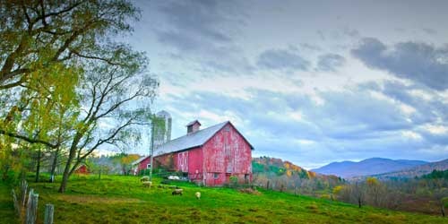 Red Barn - Hill Farm Inn - Sunderland, VT