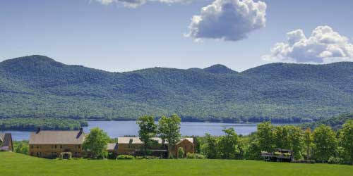 Lodge in Summer - Mountain Top Inn & Resort - Chittenden, VT - Photo Credit Gary Hall