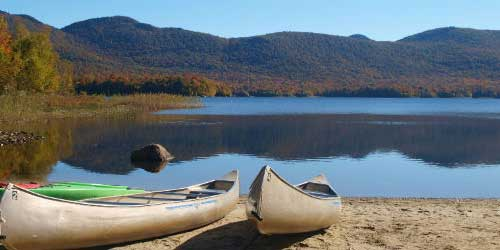Canoes - Mountain Top Inn & Resort - Chittenden, VT