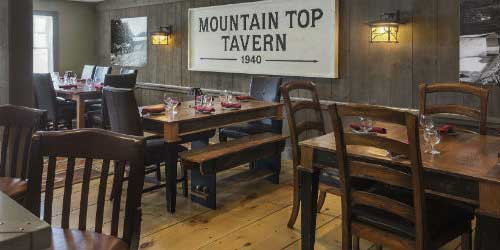 Tavern - Mountain Top Inn & Resort - Chittenden, VT - Photo Credit Gary Hall