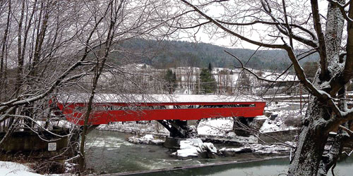 Covered bridges in vermont where to visit on vacation for Cabine in montagne verdi del vermont