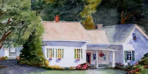 Hobble Inn Painting Stowe VT