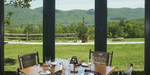 Dining Room View - Mountain Top Inn - Chittenden, VT - Photo Credit Joanne Pearson & Fair Haven Photographs
