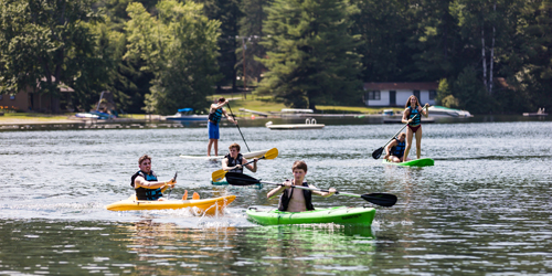 Paddling Posse - Lake Morey Resort - Fairlee, VT