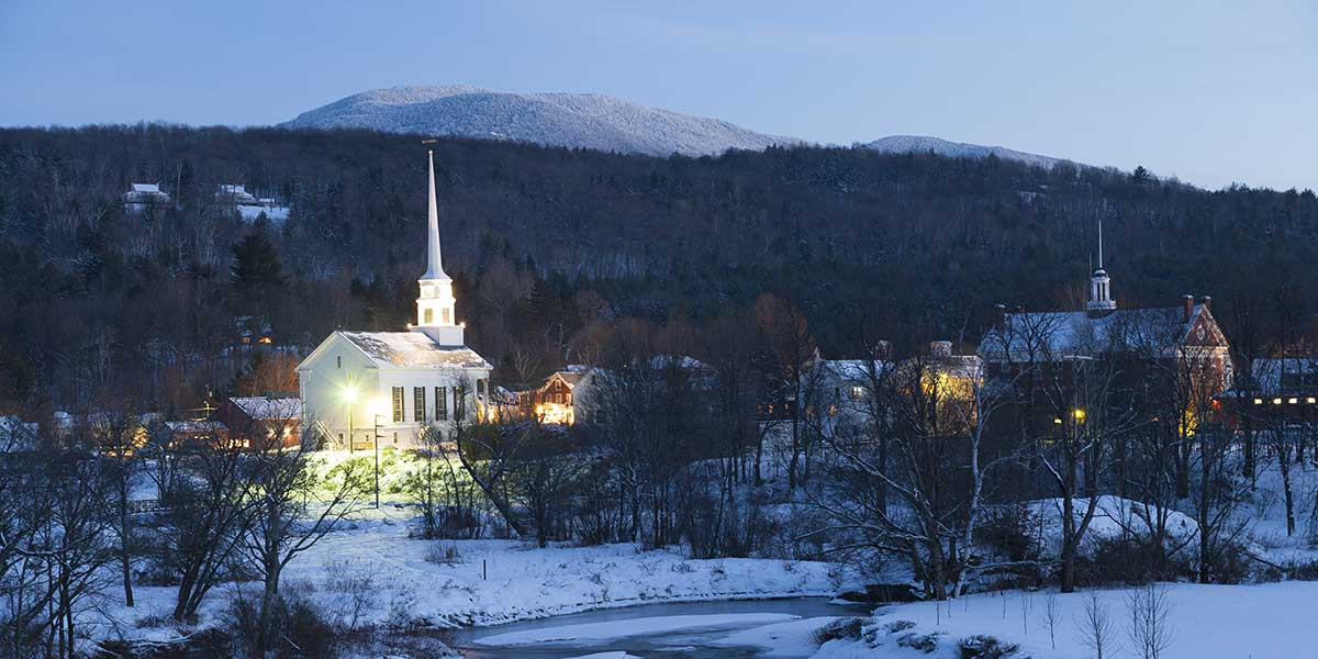 VT in the Winter
