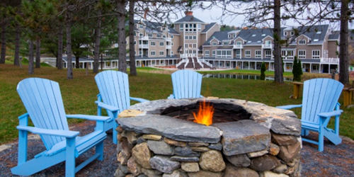 Firepit - Mount Ascutney Resort - A Holiday Inn Club Vacations Getaway - Brownsville, VT