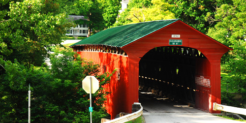 covered bridges of VT
