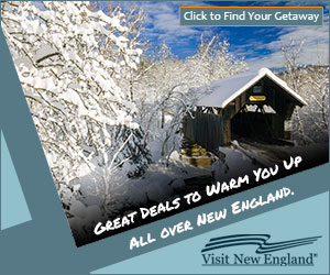 Great Deals to Warm You Up All Over New England! - Click to find your getaway!