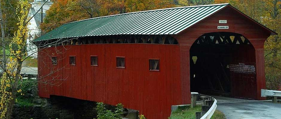 West Arlington Covered Bridge, Vermont