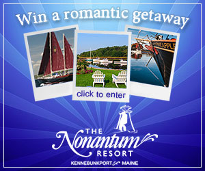 Win a Romantic Getaway to the Nonantum Resort in Kennebunkport, Maine from VNE! Click here to enter.