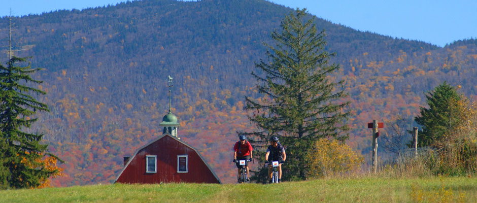 Biking in the Northeast Kingdom, Vermont