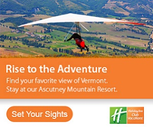 Rise to the Adventure! Find your own view of Vermont at Ascutney Mountain Resort - A Holiday Inn Club Vacation! Call 407-477-7028 or click here for more details or to check availability.