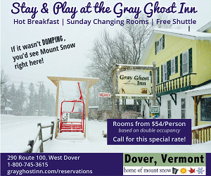 Stay & Play at the Gray Ghost Inn - West Dover, VT
