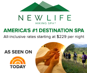 New Life Hiking Spa in Mendon-Killington, VT - America's #1 Destination Spa, as seen on the TODAY show, All-Inclusive Wellness Vacations for 40 seasons!