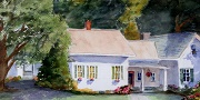 Impressionist Style Painting - Hobble Inn - Stowe, VT