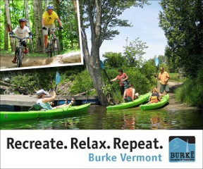 Burke, Vermont - Recreate. Relax. Repeat. Click Here to Learn More