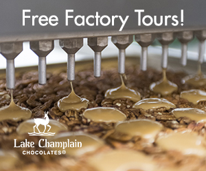 Lake Champlain Chocolates - Burlington, VT - Come visit & take a free factory tour!